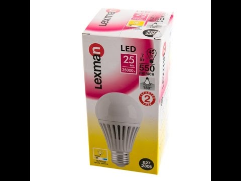 Светодиодные лампы Lexman . ( канал LedOsmotr )