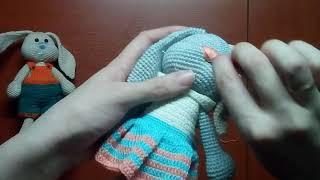 Вышивание носика для Зайки,мишки и др.зверей!
