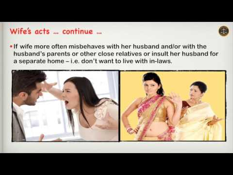How to Determine Cruelty by Wife Against Husband?