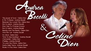 Andrea Bocelli and Celine Dion Greatest Hits (Full album) - Andrea Bocelli, Céline Dion Playlist