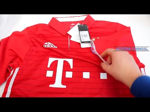 Maillot du Bayern Munich sur Aliexpress - Unboxing & Review