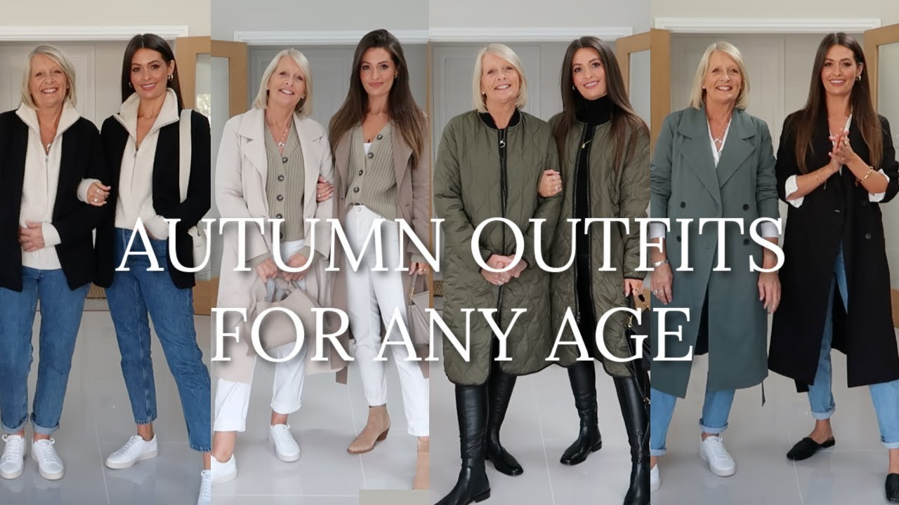 CLASSIC AUTUMN OUTFITS FOR ANY AGE | STYLING MUM IN SAME FALL OUTFITS AS ME! AD