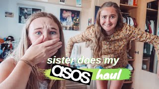 my SISTER does my ASOS haul ... (not good)