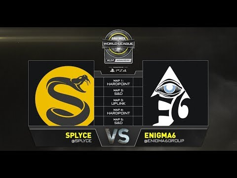 Splyce vs Enigma6 - CWL Anaheim Open Presented by PlayStation - Day 3