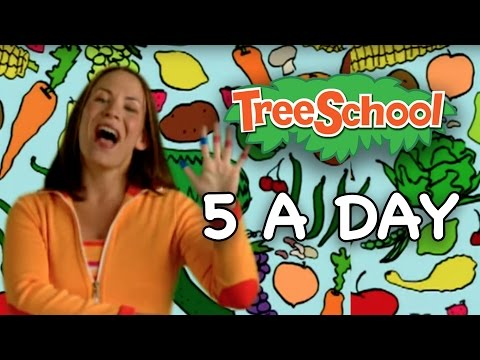 5 A Day  Signing Time  Two Little Hands TV