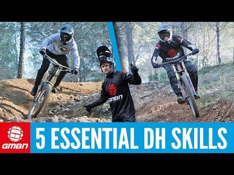 5 Essential Downhill Mountain Bike Skills