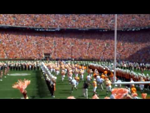 TN vs FL atmosphere inside Neyland Stadium
