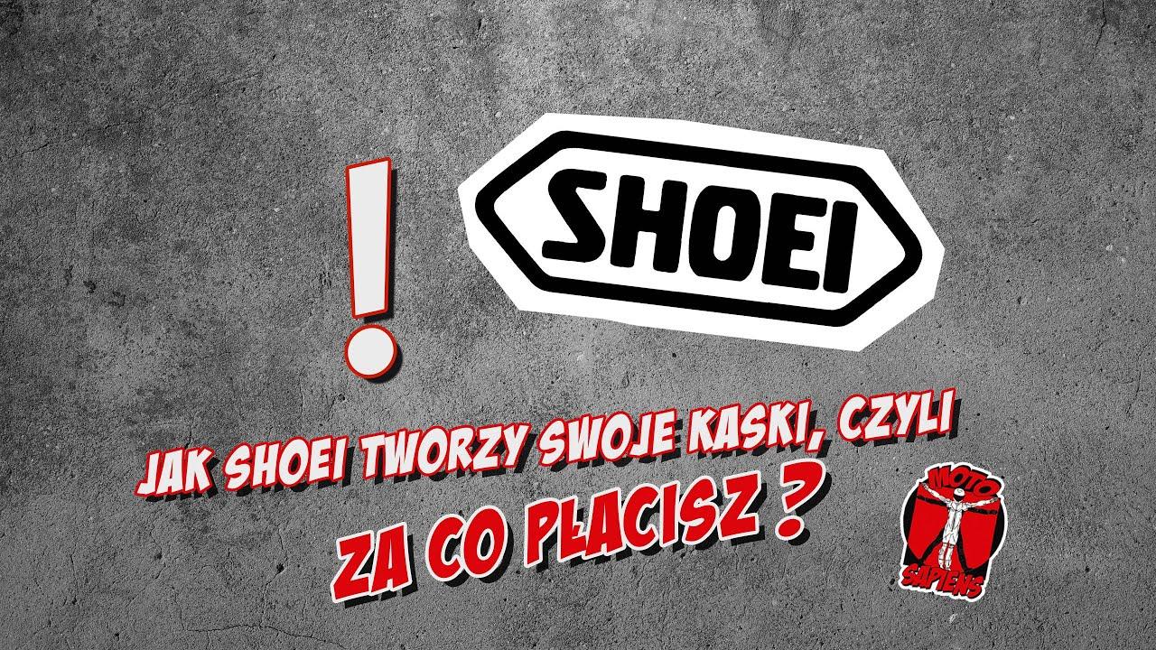 Jak Shoei robi swoje kaski i za co tak naprawdę płacimy
