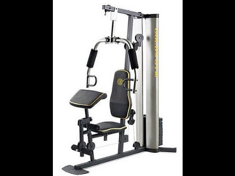Xr home exercise gold s gym review youtube