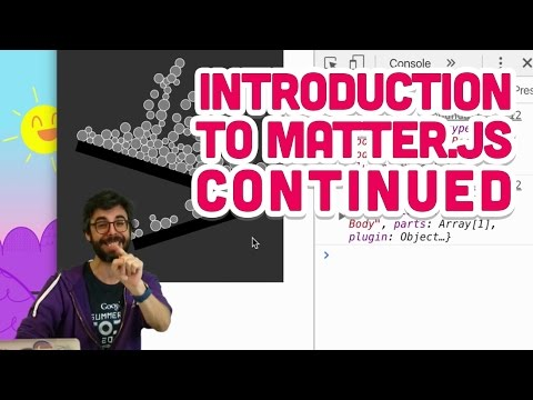 5 18: Introduction to Matter js Continued - The Nature of Code