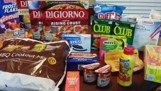 Walmart Food Shopping with Coupons | Price Matching