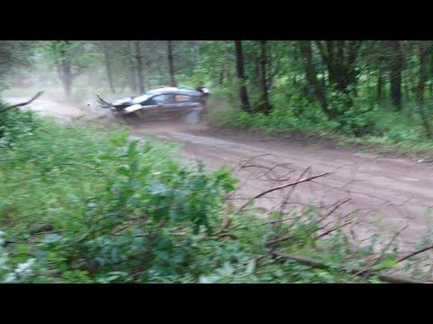 BIG CRASH OTT TÄNAK WRC 74th Rally Of Poland 2017 SS21 Paprotki