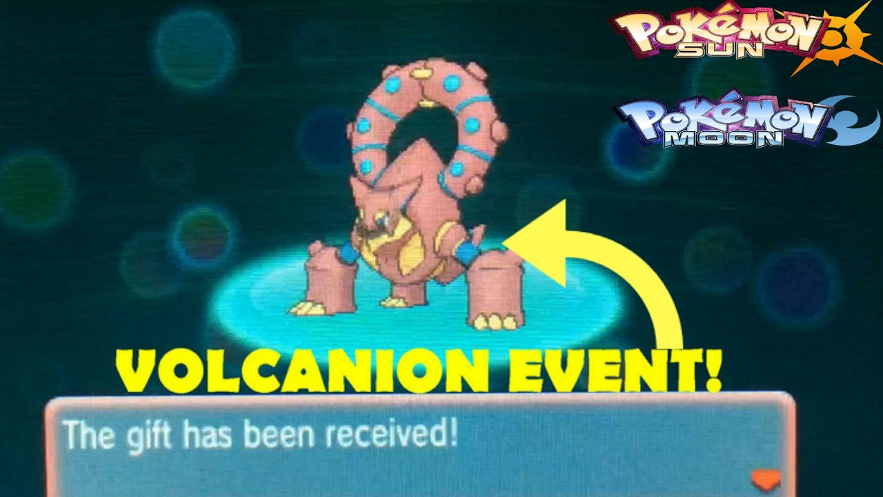 Pokemon Sun And Moon How To Get The Volcanion Event