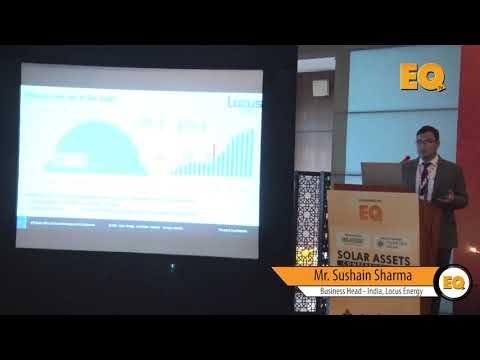 Sushain Sharma, Business Head - India, Locus Energy at EQ Solar Assets Conference, Delhi