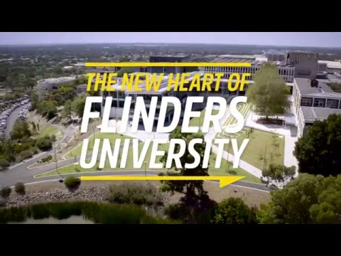 Flinders University Plaza and Student Hub