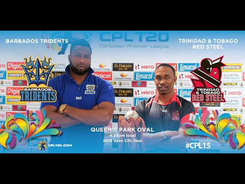2015 Hero CPL final highlights - Tridents vs Red Steel | #CPL15
