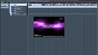 ReWire Cubase Pro - Sibelius