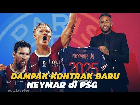 Dampak Kontrak Baru Neymar !!! Drama Panas Keluarnya Mbappe Dan Juga Haaland Menuju Spanyol