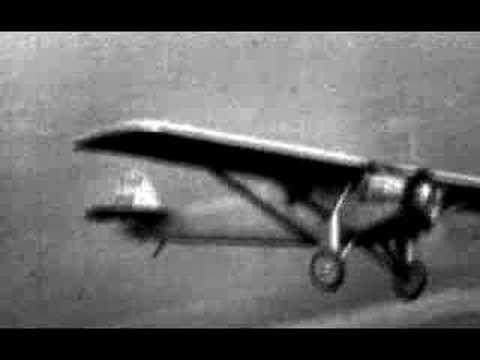 Charles Lindberg flight 1927