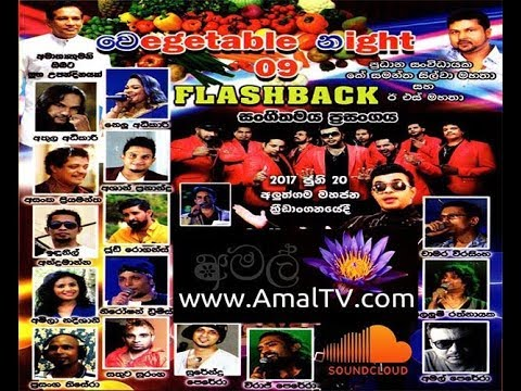 FLASHBACK - LIVE IN VEGETABLE NIGHT 9 AT ALUTHGAMA (2017) FULL SHOW - AMALTV