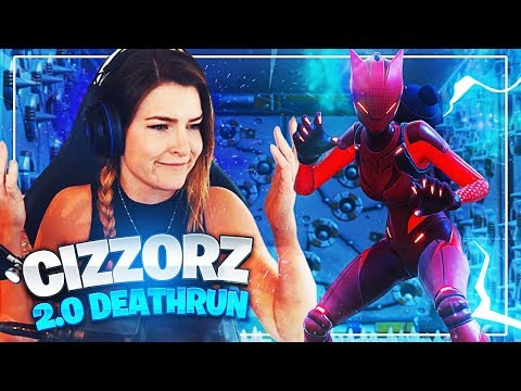 So I attempted Cizzorz Death Run 2.0... (Fortnite: Battle Royale Funny Moments) | KittyPlays