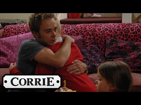 David Tells Lily & Max That Kylie Has Died - Coronation Street