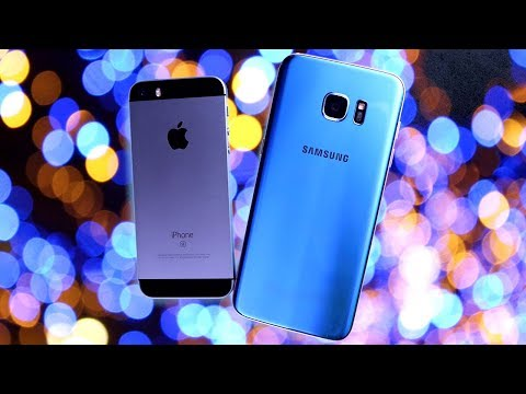 iPhone SE vs Galaxy S7 Edge Speed Test