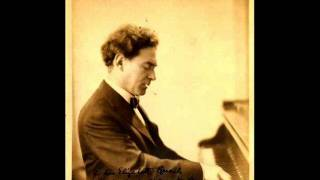 Harold Bauer plays Brahms Piano Sonata no. 3 opus 5 in F minor (5/5)