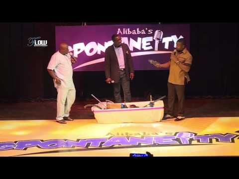 Video (stand-up): Ali baba's Spontaneity Show With Okey Bakassi, Gbenga Adeyinka & Basorge