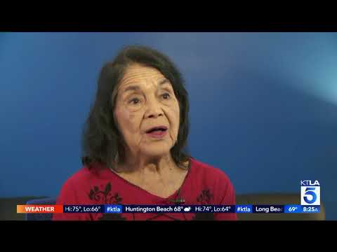 Civil Rights Activist Dolores Huerta Featured in New Documentary