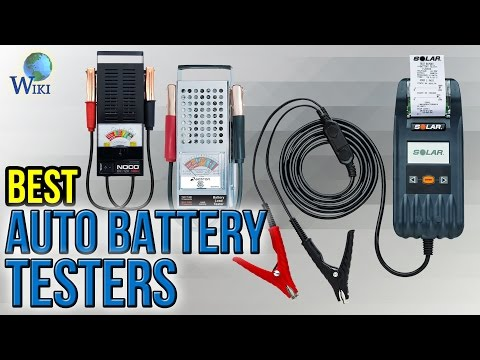 10 Best Auto Battery Testers 2017