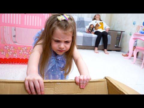 Ева и веселые соревнования с игрушками