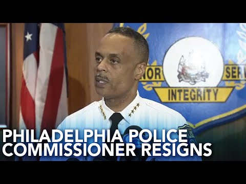 Frankie Darcell - Philly's Top Cop Resigns Amid Dept's Allegations & Mayor Comments