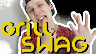 WHITE KID UNBOXES GOLD TEETH.. TOO WHITE For GRILLZ??