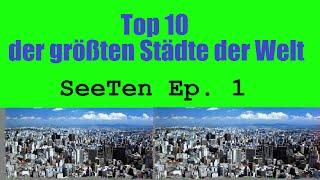 Top 10 der größten Städte der Welt [Metropolregion] | Die 10 größten Städte der Welt [HD][deutsch]