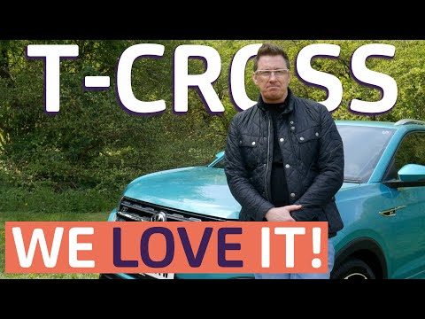 VW T-Cross | New & Exclusive UK Test | Future Car of the Year?