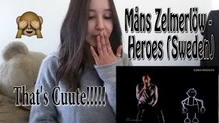 Måns Zelmerlöw - Heroes (Sweden) -Eurovision 2015 _ REACTION