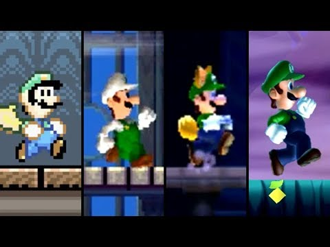 Evolution Of Ghost House Levels In Super Mario Games (1990-2019)