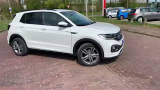 English review Volkswagen NEW T-Cross R line 2019 inside & outside