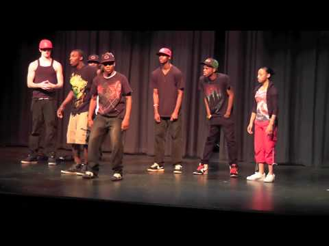 Freestyle cypher performance   Skrillex  Scary monsters and nice sprites