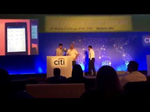 Sapnagroup at Citi Mobile Challenge 2015 - Asia Pacific