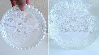 DIY| VICTORIAN CHARGER, COASTER, AND NAPKIN RING WEDDING SET /UNDER $10.00