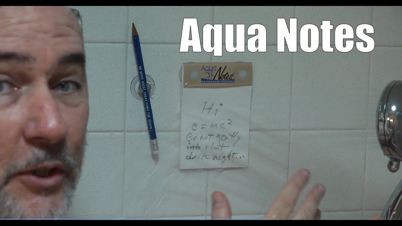 Aqua Notes Review- Waterproof NotePad | EpicReviewGuys in 4k CC