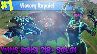 LIGHT BULB SKINS OUT! SEASON 4 GAMEPLAY! 219+ SOLO WINS! (Fortnite Battle Royale)