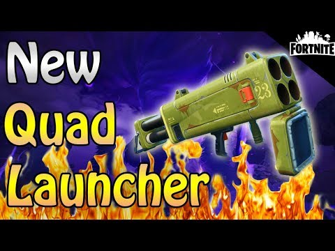 FORTNITE - New Quad Launcher Perks And Gameplay (Event Store Items)