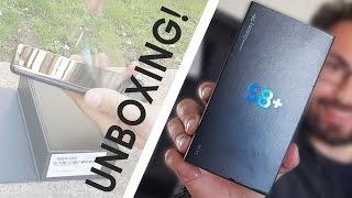 Samsung Galaxy S8: CONFEZIONE ITALIANA UNBOXING