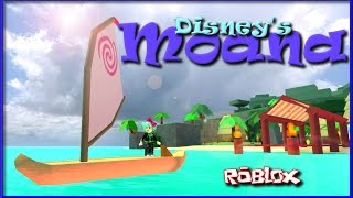 Let's play ROBLOX | Disney Moana Island Adventure | SallyGreenGamer