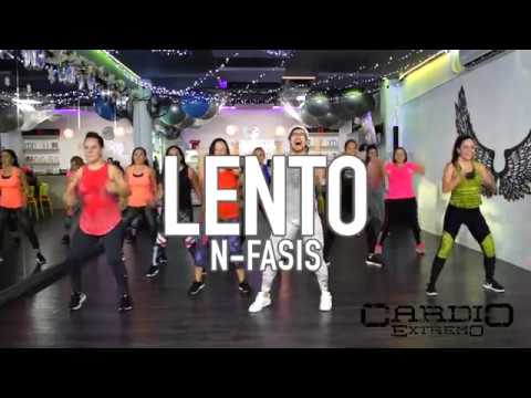 Lento – N-fasis by Cesar James Coreo Zumba Cardio Extremo Cancun
