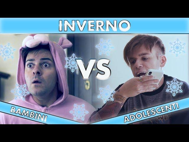 INVERNO - Bambini VS Adolescenti - iPantellas