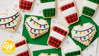 How to Make Christmas and Coffee Mug Cookies | Wilton